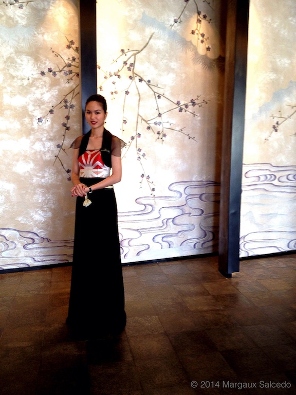 margaux salcedo photo nobu manila lobby