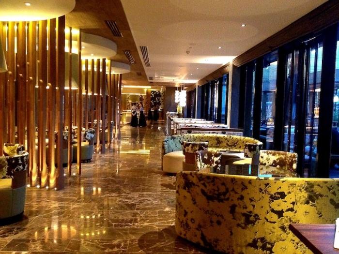 Margaux Salcedo Nobu Manila interior design