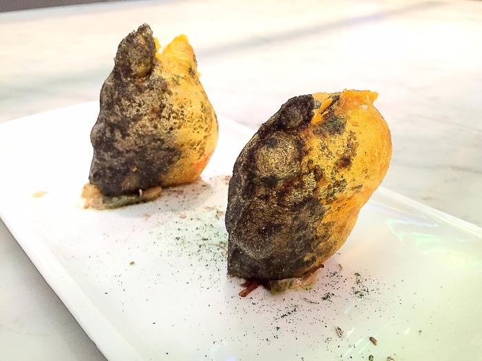 Cromlech, manioc and huitlacoche, Restaurant Arzak, San Sebastian