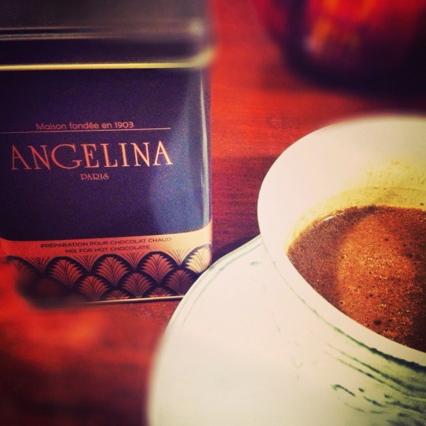 Angelina Hot Chocolate. Photo by Margaux Salcedo for margauxlicious.