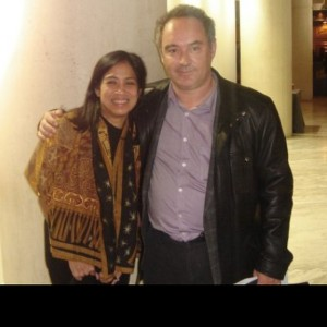 #throwback Margarita Fores with El Bulli's Ferran Adria at Madrid Fusion 2007