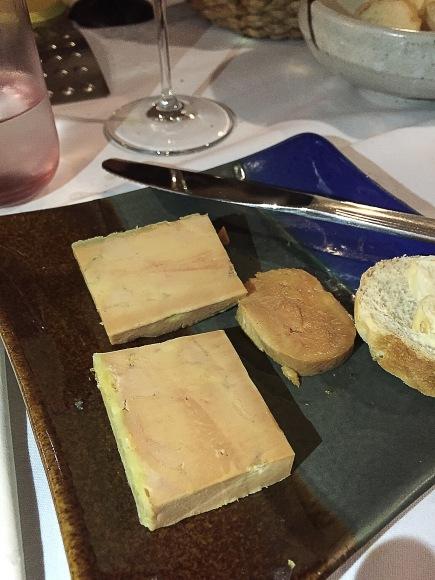 Chris Bautista foie gras