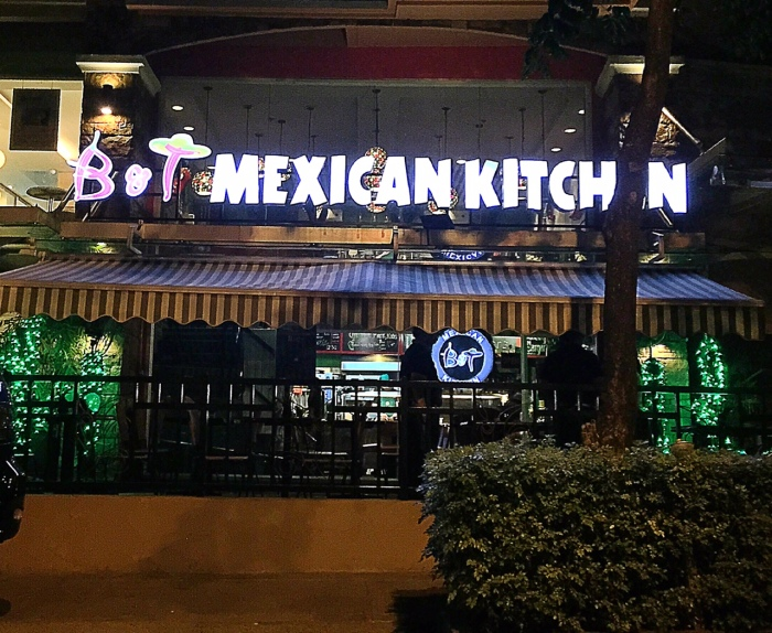 B& T Mexican Kitchen, McKinley Hill. Photo by Margaux Salcedo.