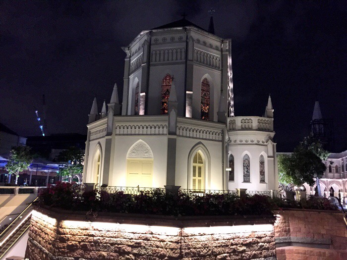 Chijmes, Singapore. Photo by Margaux Salcedo for Margauxlicious.