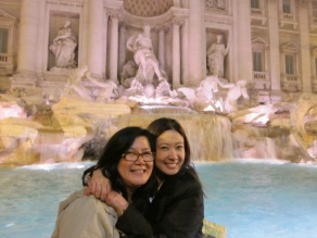 Three coins in the fountain. Trevi Fountain, Rome. margauxlicious trevi fountain 3