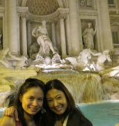 Making a wish with my Partner in Fun, Cong. Rachel del Mar <3
