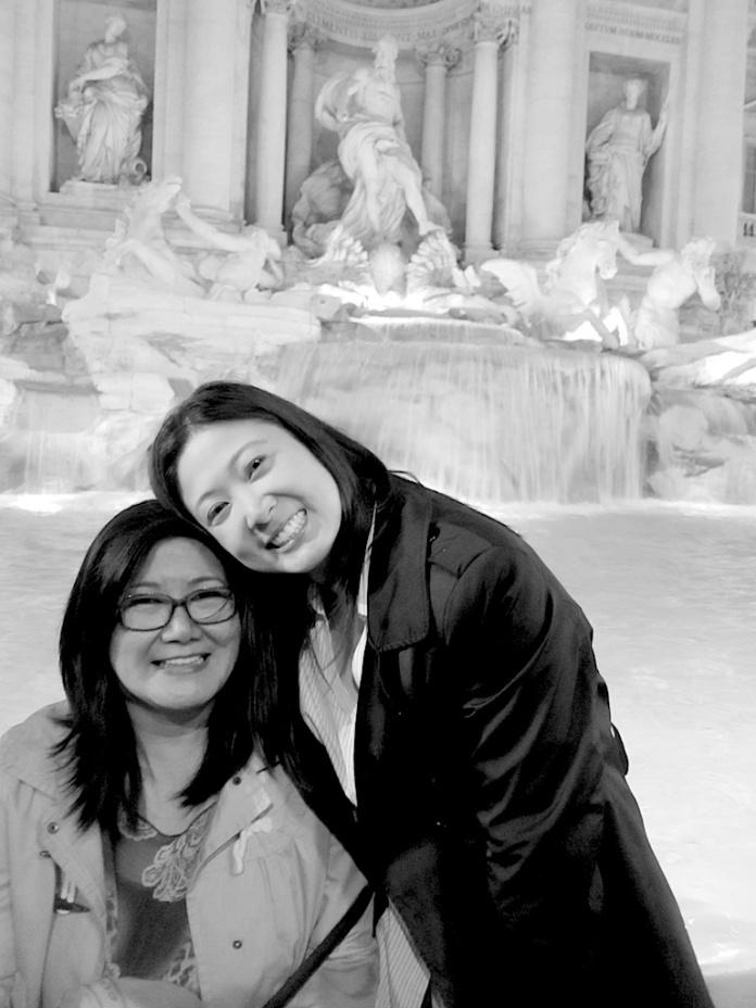 Trevi Fountain, Rome.