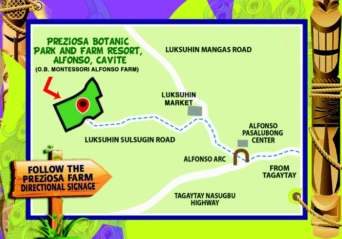Preziosa Farm Map
