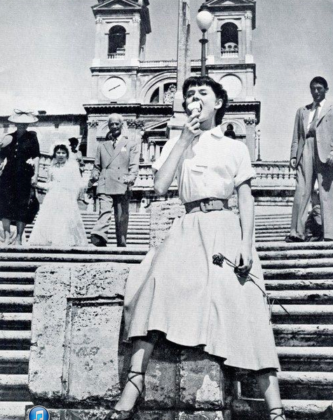 Roman Holiday. Audrey Hepburn.