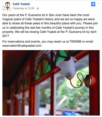 Cafe Ysabel, Gene Gonzalez, Judy Ann Santos, San Juan restaurants, Margaux Salcedo blog, margauxlicious