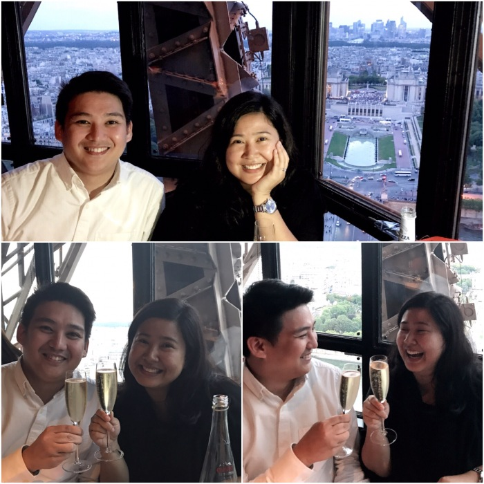 Goldee Salcedo, Nico Garcia, Eiffel Tower, Engagement, Love