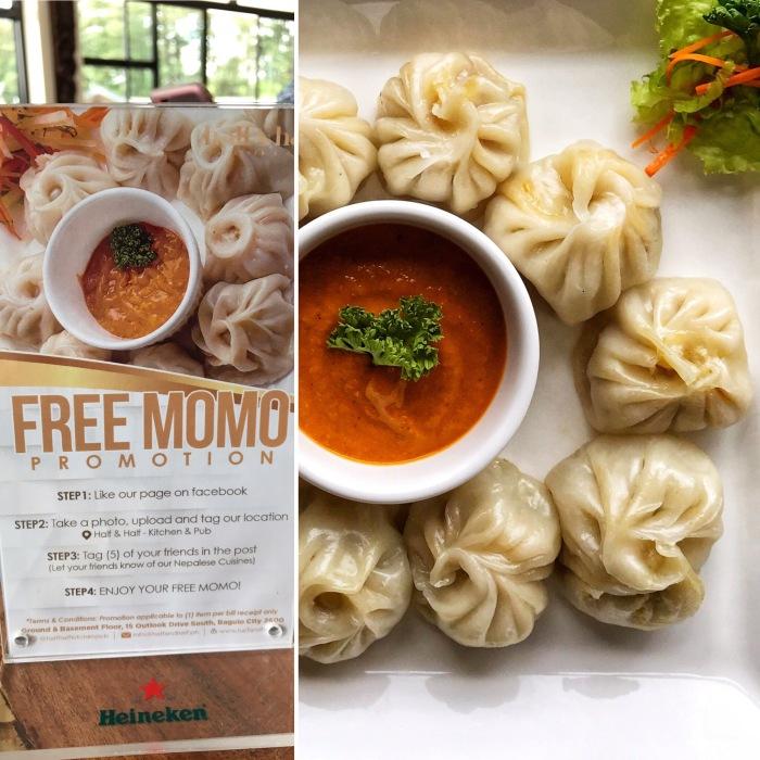 Momo, Nepalese cuisine, Baguio restaurants, dumplings.