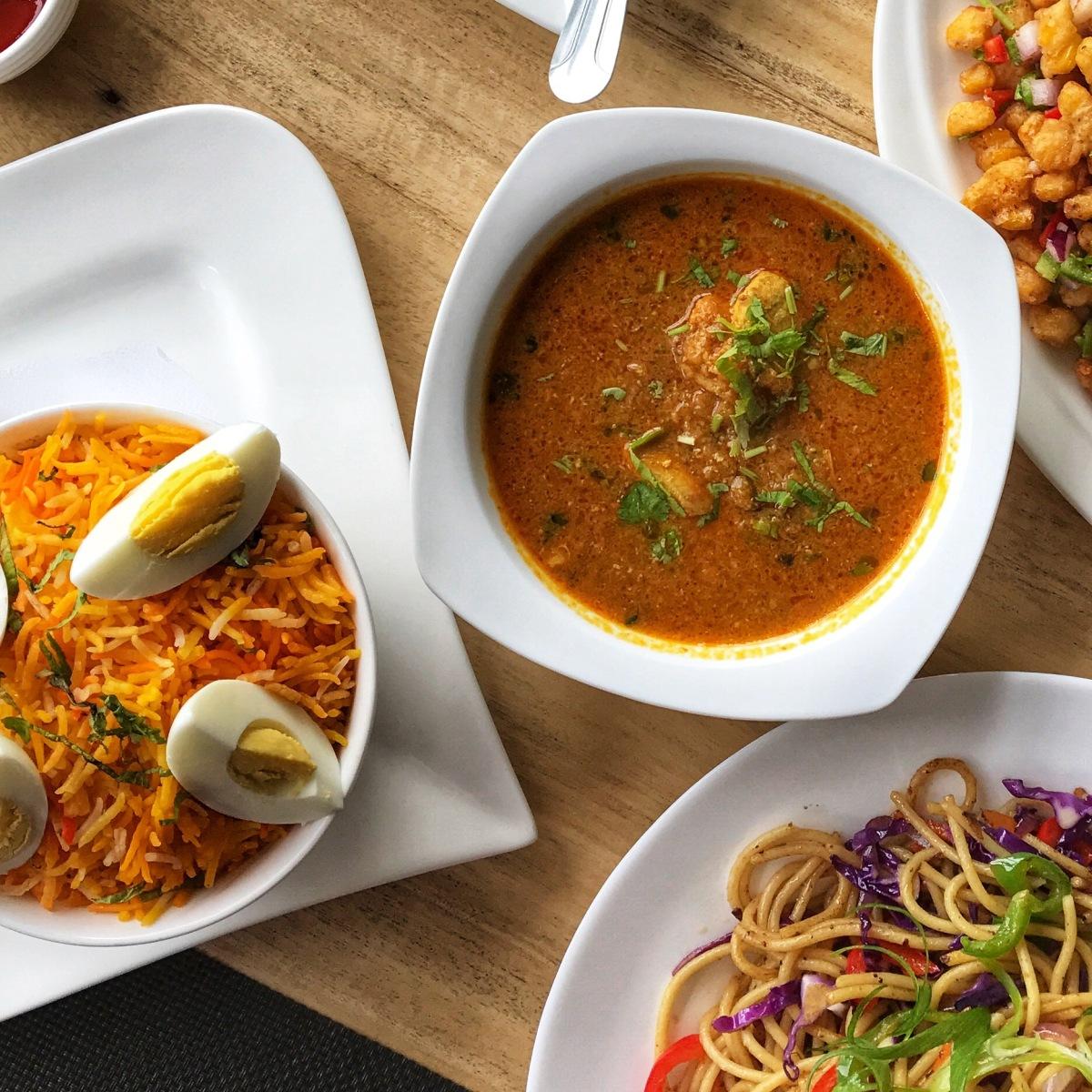 half & half interiors, baguio restaurant, nepalese cuisine, nepalese art, ganesha, chicken curry, twakka makai, momo, basmati rice