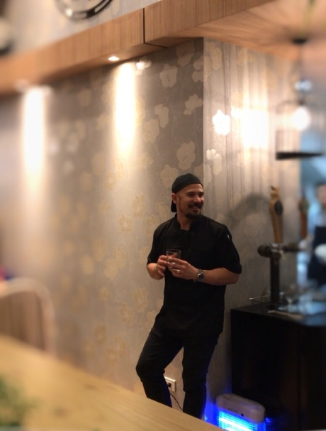 Francis Balbarin, New York-based Filipino bartender takes over James and Daughters kitchen