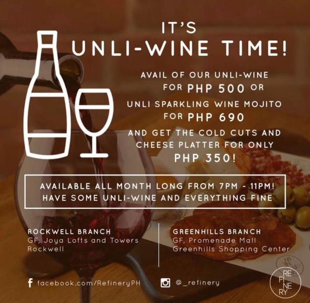 Valentine's for Singles with Unlimited Wine and Mojitos at Refinery