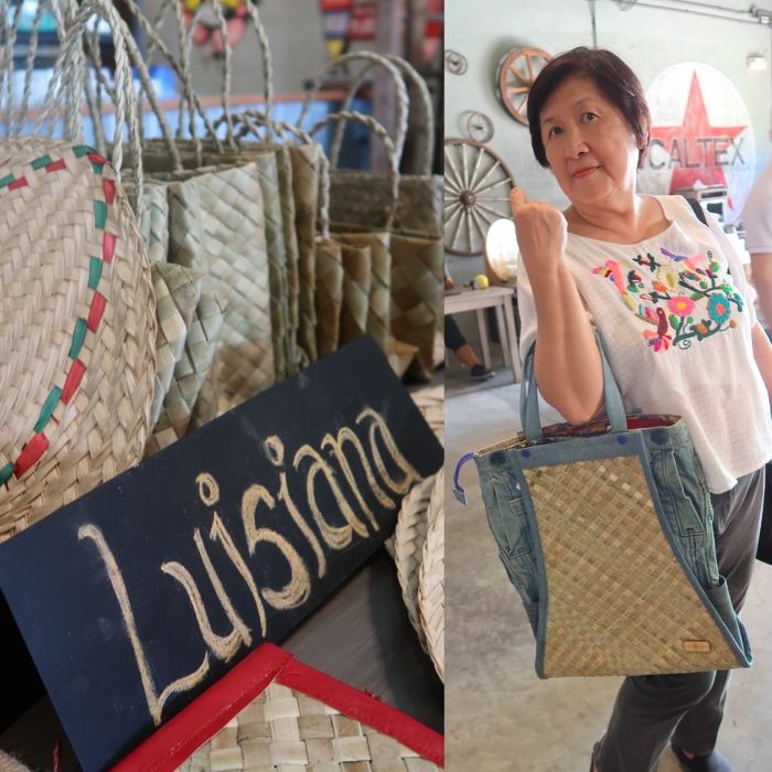 Micky Fenix, Luisiana bags, Laguna, Philippines, Philippine crafts, Philippines bags, local bags, Philippines tourism, Gel Salonga, Ted's Kitchen, Margaux Salcedo
